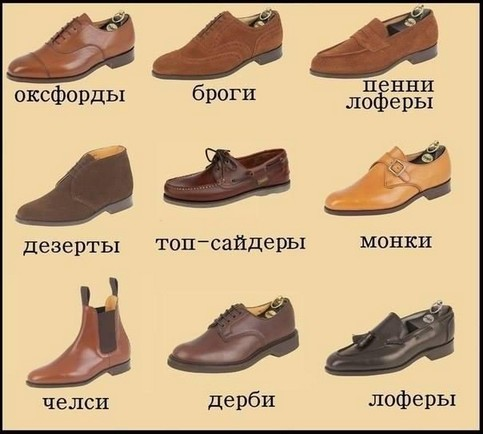 Как подобрать мужскую обувь татьяна егорова фото